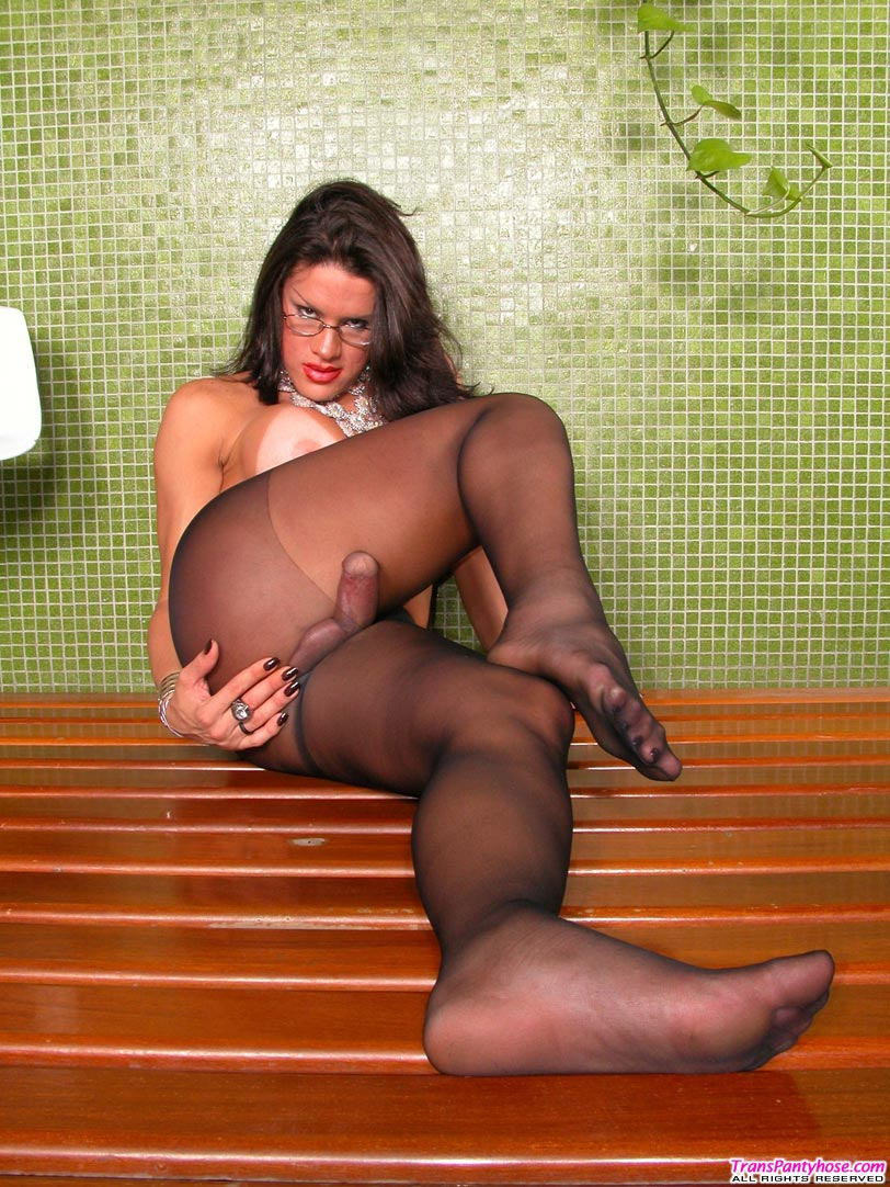 from Landen sexy stockings shemales